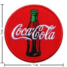 Coca Cola Coke Logo 1 Embroidered Iron On Patches From Thailand Free Shipping