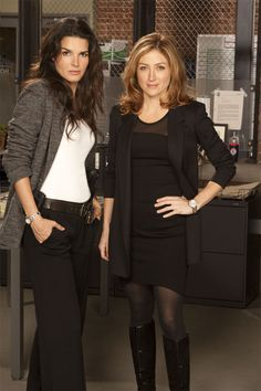 I would wear everything that Sasha Alexander wears on Rizzoli & Isles