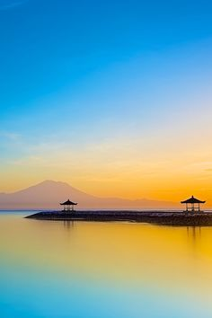 Sunrise at Sanur by ananda wicaksono // Premium Canvas Prints & Posters // www.palaceprints.com