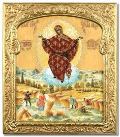 Theotokos Sporitelnitsa Ripener of Grain icon