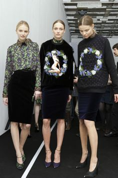 Givenchy girls.