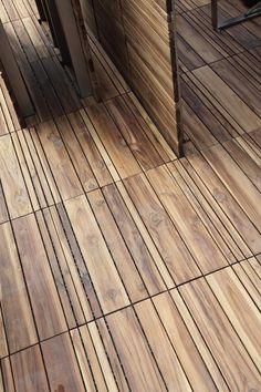 larameeee:  Wooden#deckingDECKOUT - QuadrottaMix by @Patti Menotti Specchia#wood#outdoor