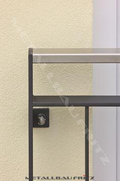 franz sischer balkon mit edelstahlhandlauf rahmen anthrazit pulverbeschichtet f llung mit. Black Bedroom Furniture Sets. Home Design Ideas