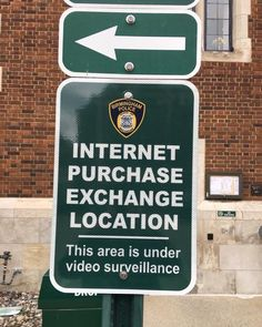 Exciting news... The Birmingham Police Department has created an Internet Purchase Exchange Location for buyers and sellers utilizing websites like Craigslist to buy and sell items. If you're completing an online transaction you can make the exchange in the city hall/police parking lot on the south side of 151 Martin. While we recommend that these transactions take place during daytime hours the lot is well-lit if you need to meet after dark.  Also the lot has video surveillance on it at all…