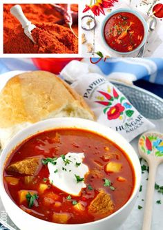 Hungarian Hot Paprika Powder from Kalocsa - Premium Quality Hungarian Paprika, Pantry Essentials, Red Colour, Red Peppers, Ruby Red, Chana Masala, Curry, Powder, Dishes