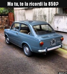 Fiat 850, Fiat Abarth, Turin, Automobile, National Car, Good Looking Cars, Microcar, Fiat Cars, Parking