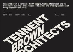 Tennent Brown Architects | CSS Website