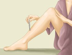 How to Remove an Ingrown Hair. Ingrown hairs occur when hair curls around and grows back into the skin or if dead skin clogs the hair follicle and forces it to grow sideways. Ingrown hairs are often itchy and slightly painful. They look. Ingrown Leg Hair, Ingrown Hair Remedies, Ingrown Hair Removal, Ingrown Hairs, Hair A, Grow Hair, Skin Tags Home Remedies, Hair Issues, New Skin