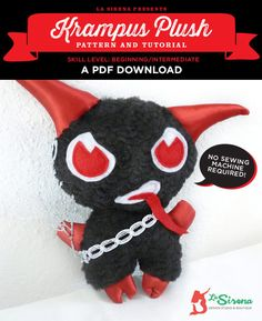 Plush Krampus Christ