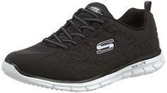 Skechers  Glider In the Zone,  Damen Sneakers , Schwarz - Black (Bkw) - Größe: 36 EU - http://on-line-kaufen.de/skechers/36-eu-skechers-glider-in-the-zone-damen-sneaker-3