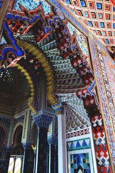 Castello di Sammezzano, Regello. Tratto dal Film  'Il Racconto dei Racconti'
