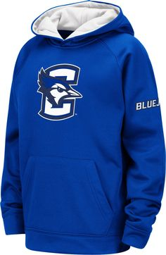 019fdf69 Colosseum Youth Creighton Bluejays Blue Fleece Pullover Hoodie Fleece  Pullover, St Louis, Youth,