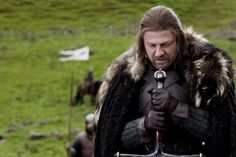 Sean Bean: First, I was like, King of Men and then I was like, Winter in Coming. :)
