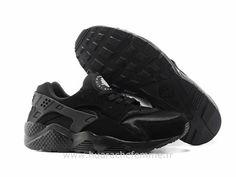 new product 2b873 e48da Nike Air Huarache Tout noir - Chaussure Pour Femme Triple Chaussure Huarache  Femme Grey Huaraches,