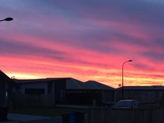 Beautiful sunset here in the NZ