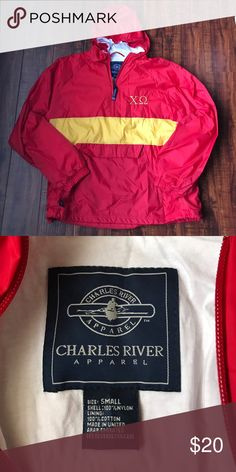Chi Omega Charles River Quarterzip Chi Omega Charles River Quarterzip. Charles River Jackets & Coats