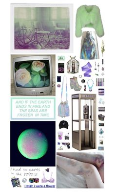"""Entering into the Earth's atmosphere don't forget to say ""goodbye"" to the extraterrestrial drugs. You can use the phone."" by nothingisnormal ❤ liked on Polyvore featuring Manic Panic NYC, OKA, Yves Salomon, Cosabella, Wolford, Betsey Johnson, Coach, Maison Margiela, By Emily and Christian Dior"