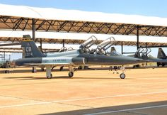 A Northrop T-38 Talon from the 49th Tactical Training Squadron at Columbus AFB, Mississippi.