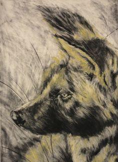 Charcoal, Graphite, & Pastel on Rives BFK paper  2011 www.alexander-landerman.com