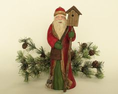 Old World Santa Collectable Santa 20 Hand by TurtleMtnArtistry, $300.00