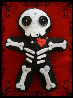 Voodoo Doll by Joan Coleman. This one is of the not so benign type.