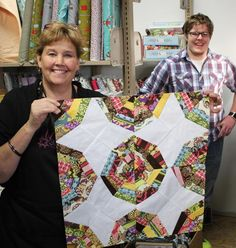 Spiderweb quilt.  Such a cute way to use all my scraps!  Love Missouri Star Quilt Company!  Best and easiest tutorials!!