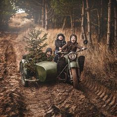 Could you capture the spirit any better than photographer Adam Wawrzyniak? I'm not entirely sure all of those children have successfully passed their full motorcycle license.
