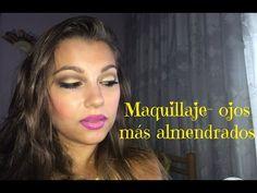 Maquillaje-ojos más almendrados - YouTube
