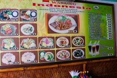 Some of The Menu - Check out the low prices! Family Of 6, Family Travel, Bali, Travelling, Budgeting, Menu, Holiday Decor, Check, Family Trips