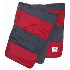Blanket from 7 AM Enfant  BS36-RED-GRAY