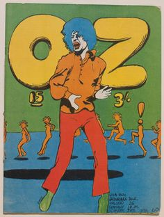 Martin Sharp Oz magazine cover