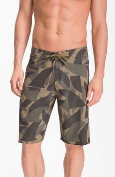 Quiksilver Waterman Camofin Board Shorts | Nordstrom Mens