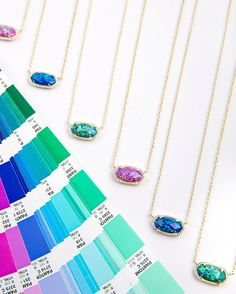 Online Exclusive: The Elisa Necklace in New Opal Colors - Kendra Scott Jewelry.
