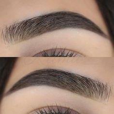 Natural Black brows