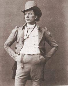 "George Grossmith as Robin Oakapple in ""Ruddigore,"" 1887."