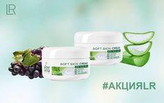 ❗ВНИМАНИЕ❗АКЦИЯ❗  👉 Набор крема Soft Skin Cream Aloe Vera из 2-х штук по специальной цене!  🌱 Soft Skin Cream Aloe Vera – это комплексный мягкий уход для особо чувствительной сухой кожи лица и тела, который подойдет для всей семьи 👪  🌱 Активные ингредиенты крема - Гель Алоэ Вера 100%, масло виноградных косточек (био), масло жожоба, пантенол и витамин Е – восстанавливают чувствительную кожу, защищают её и смягчают.  🌱 Крем Soft Skin Cream Aloe Vera легко распределяется и быстро…