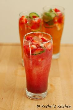 Virgin 'Pimms' - A Non Alcoholic Refreshing Summer Drink More