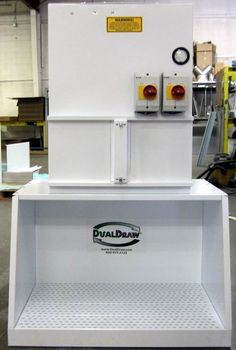 Desktop Downdraft Table  #Dualdraw  #Dualdraw.com