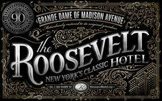The Roosevelt Hotel on Behance | by Ben Didier