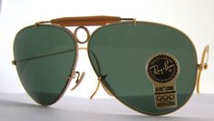 2ce6b0cb9a RAY BAN b l Shooter bullethole Aviator by ifoundgallery on Etsy