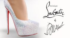 Daffodile Strass SS 2016 pumps at MA$ims4 • Sims 4 Updates