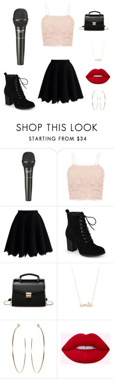 """Gabi Party #3"" by gabilovegood ❤ liked on Polyvore featuring Audio-Technica, Chicwish and Journee Collection"