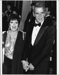 Rock Hudson And Liza Minelli  At The Golden Globes (1985)