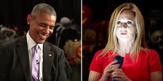 Watch President Obama and Sam Bee Take Turns Telling Donald Trump Horror Stories  - Esquire.com