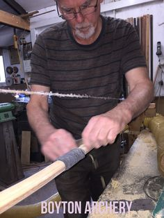 Final stages of tillering one of my longbows