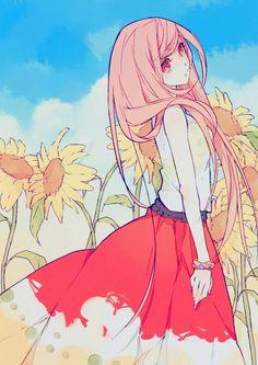 Sunflower Girl.