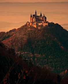 Hohenzollern Castle (Burg Hohenzollern) is a castle about 50 kilometers (31 mi) south of Stuttgart, Germany.