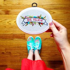 Funny embroidery