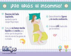 Si estás en los últimos dos meses de la gestación, posiblemente te está costando trabajo dormir. Te damos aquí cinco consejos para descansar mejor.