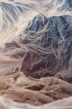 """Plastic bag landscapes"" by Vilde J. Rolfsen | http://ineedaguide.blogspot.com/2015/02/plastic-bag-landscapes-vilde-j-rolfsen.html #art #photography"